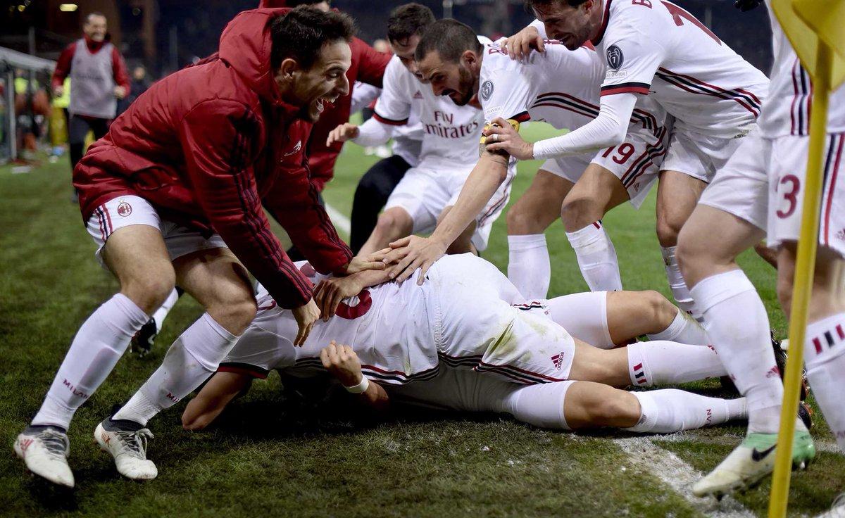 Защитник Милана Калабрия далек от возвращения на поле