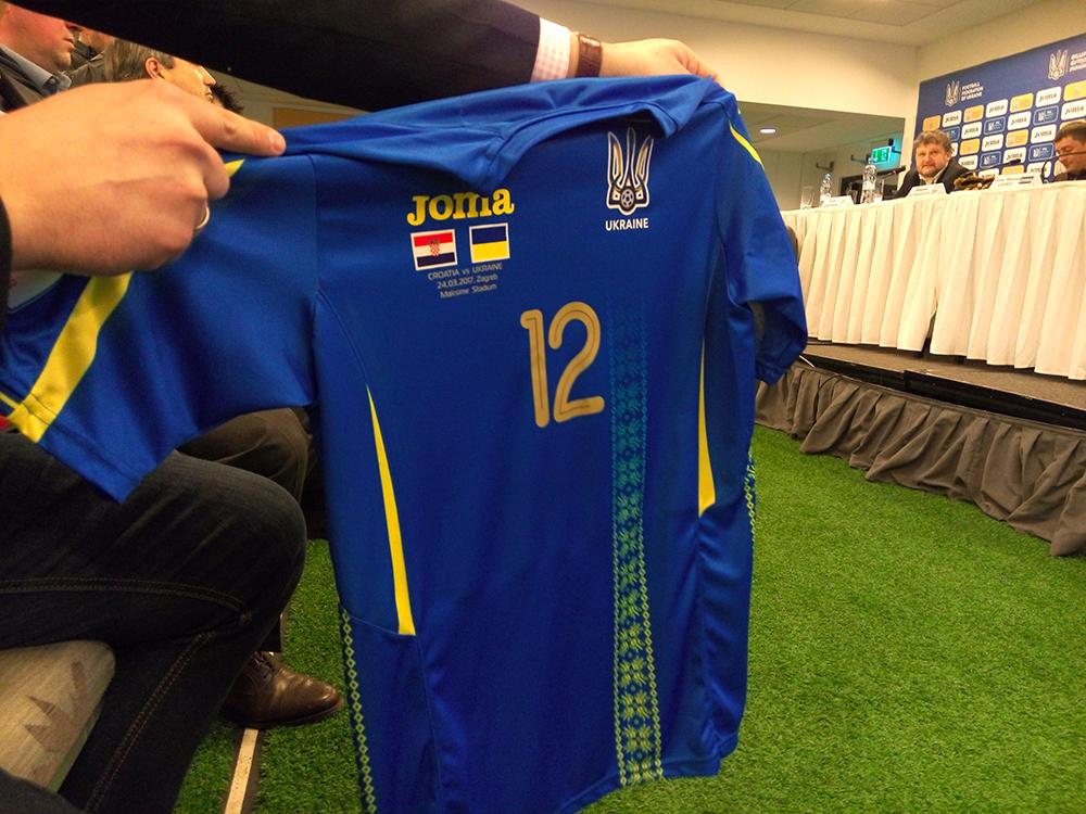 42092f2db176 Напомним, что ранее техническим спонсором сборной Украины была компания  Adidas.